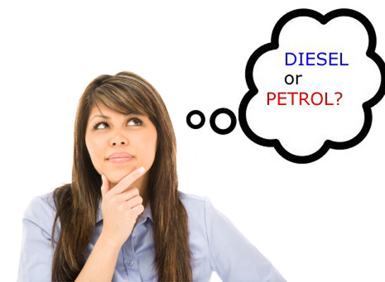 Tech talks: Diesel power versus petrol power