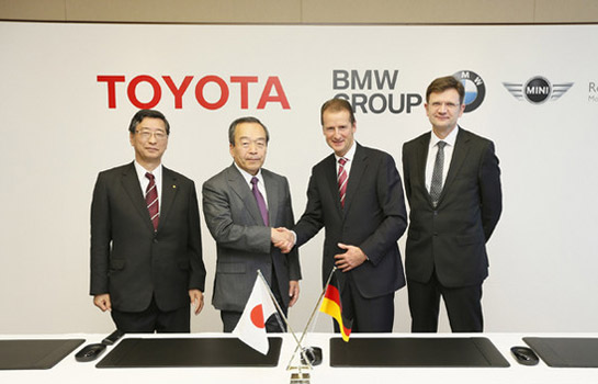 Toyota, BMW sign agreement for fuel-cells, sports car