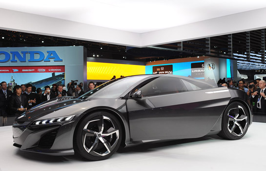 All new Acura NSX concept vehicle at Detroit motor show 2013