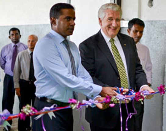 AMW opens central assembly facility