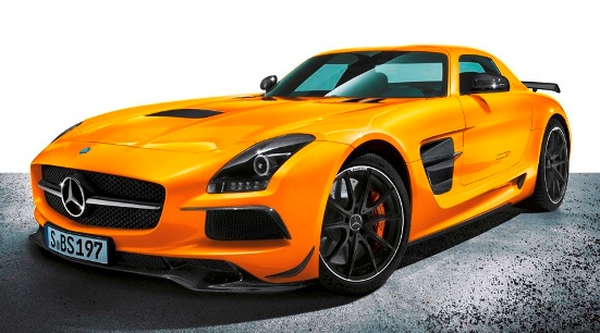 Mercedes-Benz finally reveals SLS AMG Black Series