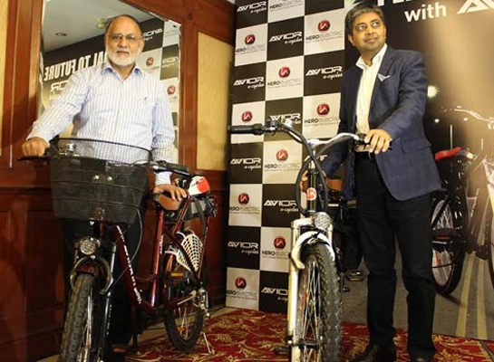 Hero Electric launches e-cycles in India