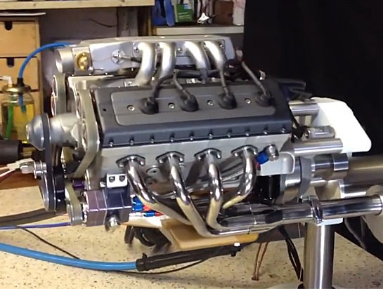 Man Makes Homemade 48cc V8 Engine Buy Sell Vehicles Cars Vans