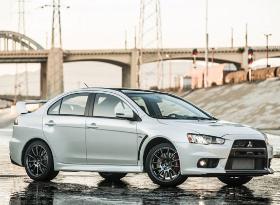 Mitsubishi announces the end of Lancer Evolution