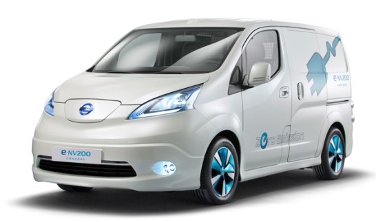 Nissan 7 Seat Electric Minivan Based On E Nv200 Coming Next Year