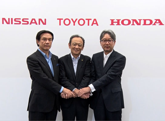 Toyota, Nissan, and Honda Agree on Joint Support for Hydrogen Infrastructure Development