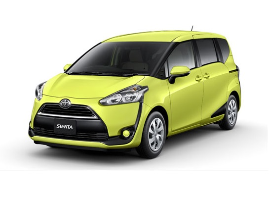 New Toyota Sienta Compact Minivan Unveiled In Japan