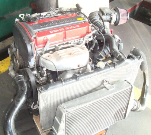 Lancer Evolution Engine Specs: Mitsubishi Evo 4 Engine For Sale