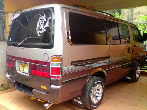 Toyota Hiace Van For Sale Buy Sell Vehicles Cars