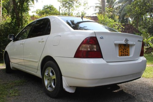 Toyota Corolla 121 For Sale Buy Sell Vehicles Cars